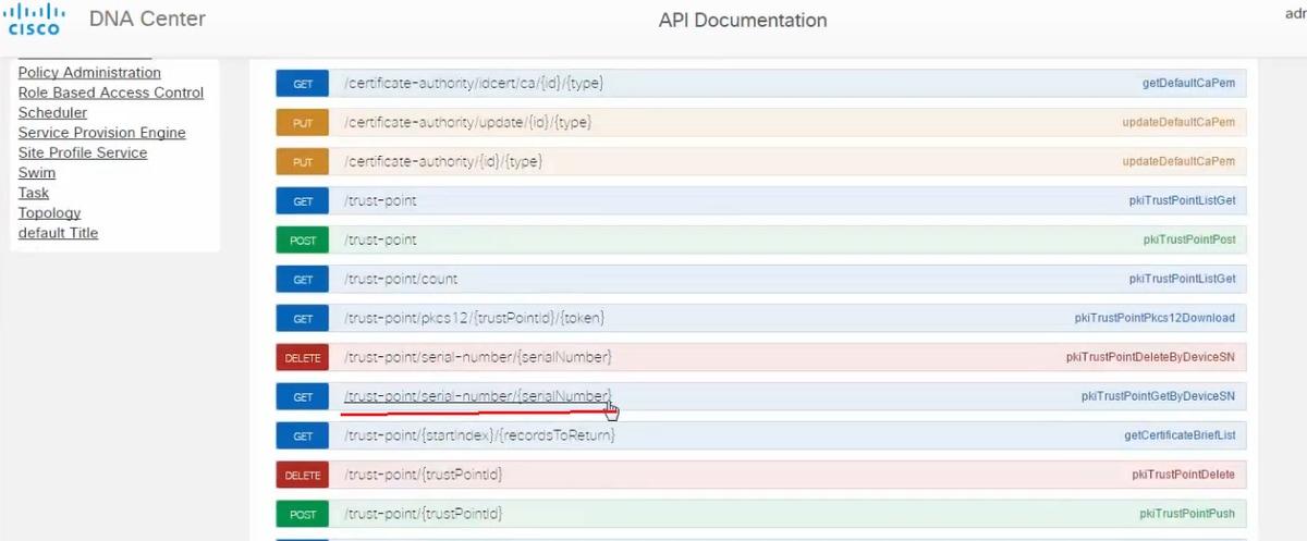 Apic Em 13 Certificate Generation Deletion Via Api Cisco