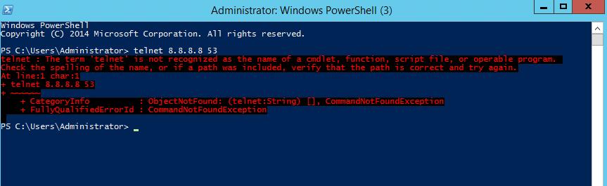 How to install Telnet service on Windows using Windows