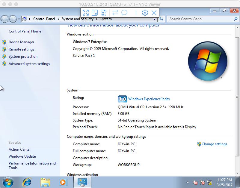 Configure Windows VM to CGM-SRV Module on CGR1xxx - Cisco