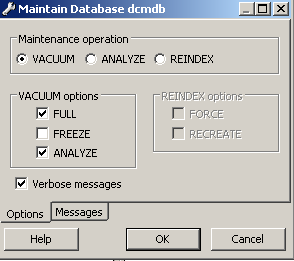 Data Center Network Manager Dcnm Vacuum And Autovacuum