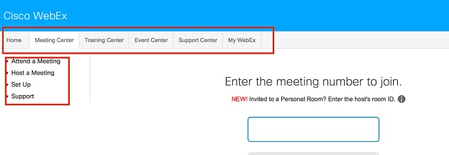 Detailed Feature Comparison Meeting Center vs WebEx Meetings Cisco