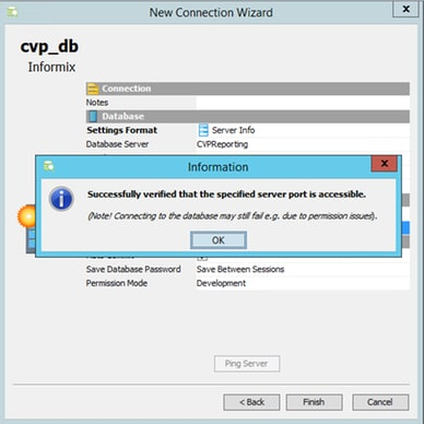 GUI Client for CVP Reporting Database - Cisco