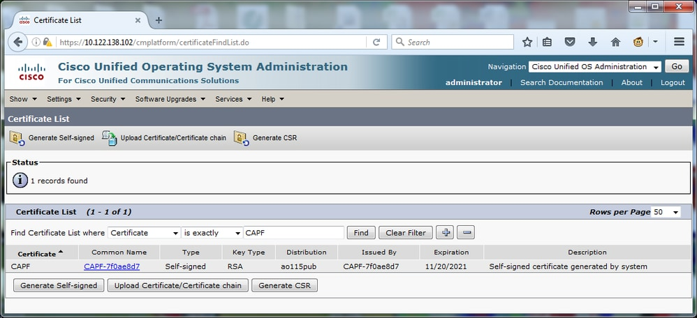 Configure LSC on Cisco IP Phone with CUCM - Cisco