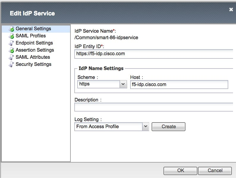 Install and Configure the F5 Identity Provider (IdP) for