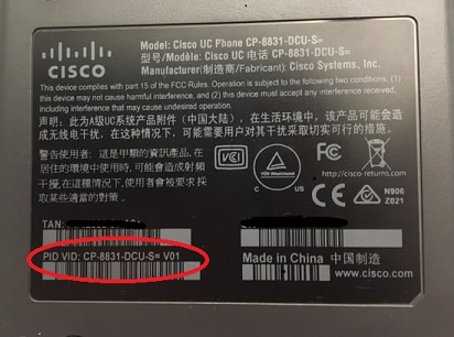 how to upgrade firmware on cisco 8831
