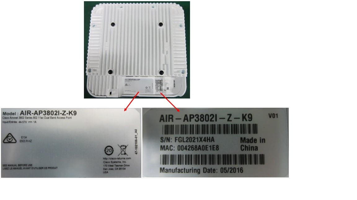 Field Notice: FN - 70143 - Some 3802 Wireless Access Points Might Be
