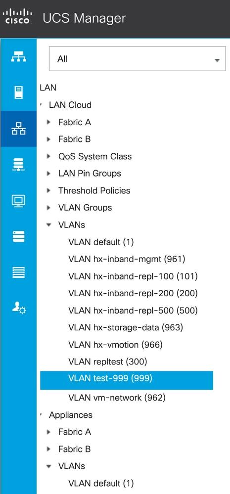 Adding VLANs after installation of Hyperflex - Cisco