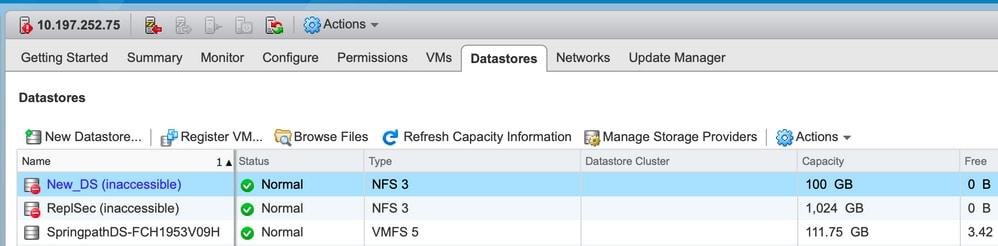 Troubleshooting Hyperflex Datastore Mount Issues in ESXi - Cisco