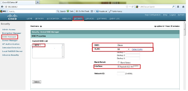 SSID-on-Autonomous-AP-Configuration-Example - Cisco