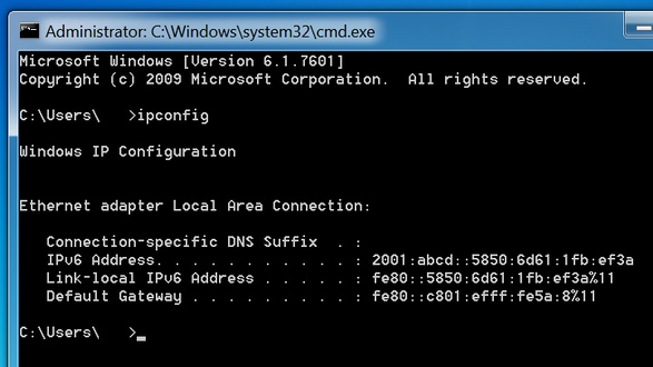Troubleshoot Ipv6 Dynamic Address Assignment With Cisco Router And Microsoft Windows Pc Cisco
