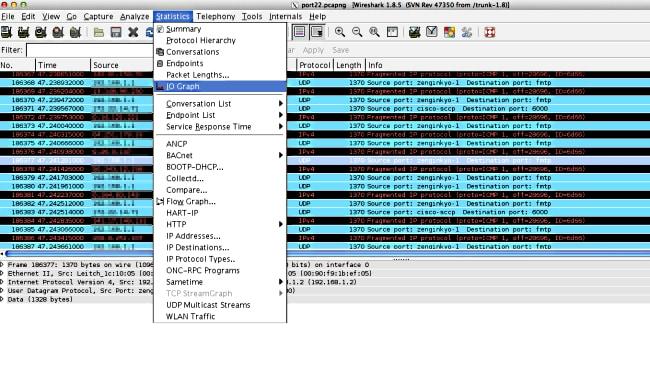 Wireshark Use to Identify Bursty Traffic on Catalyst Switches - Cisco