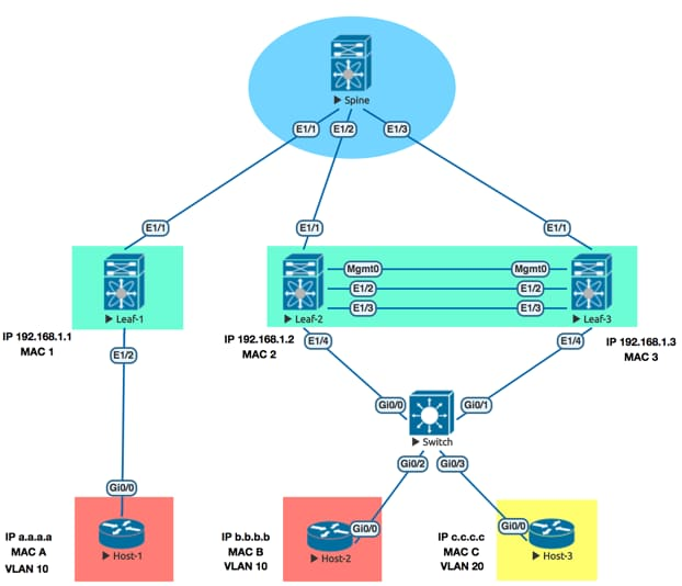 Virtual Extensible LAN and Ethernet Virtual Private Network