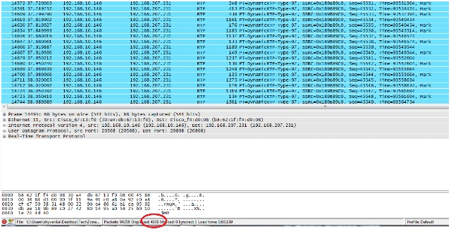 Decipher the RTP Stream for Packet Loss Analysis in Wireshark for