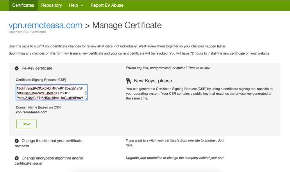 Configure Asa Ssl Digital Certificate Installation And Renewal