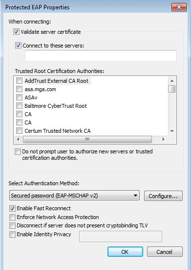 how to use certificates to validate vpn connections