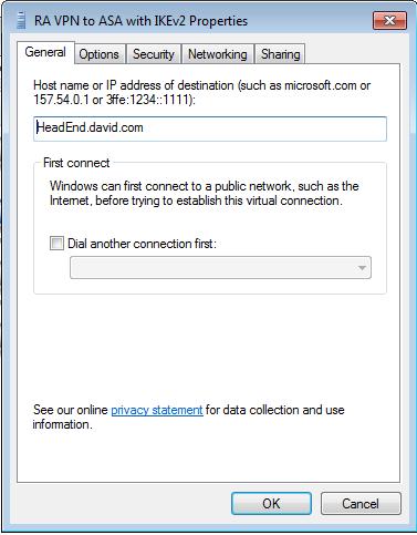 Cisco vpn se queda minimizado
