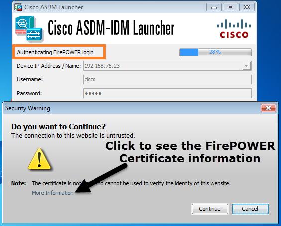 Use ASDM to Manage a FirePOWER Module on an ASA - Cisco