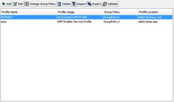 Installation and Configuration of AMP Module Through