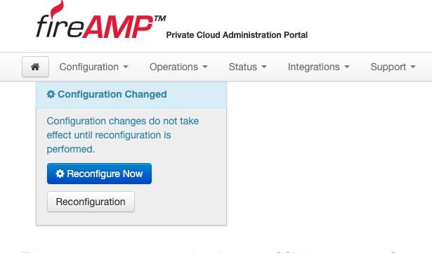 Alcançando o CLI da nuvem privada AMP através do SSH e transferindo