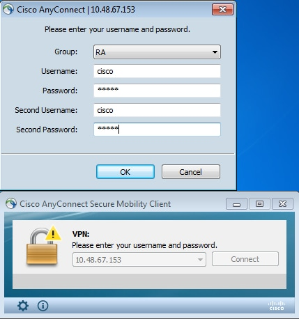 ASA AnyConnect Double Authentication with Certificate Validation ...