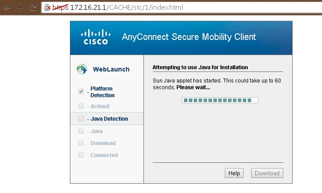Configure AnyConnect Secure Mobility Client with Split