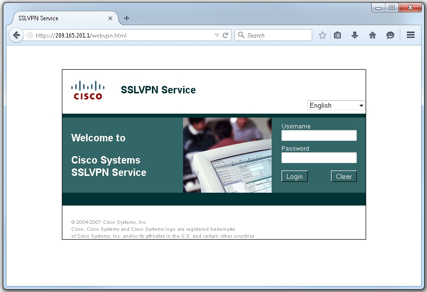 Cisco 871 ssl vpn configuration