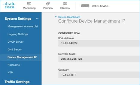 Configure Firepower Threat Defense (FTD) Management Interface - Cisco