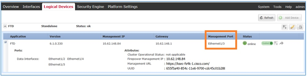 Configure Firepower Threat Defense (FTD) Management Interface - Cisco