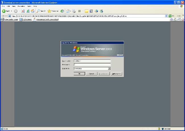remote desktop activex control windows 8