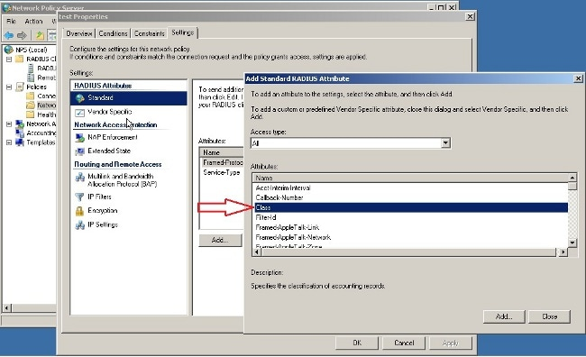 ASA VPN User Authentication against Windows 2008 NPS Server (Active