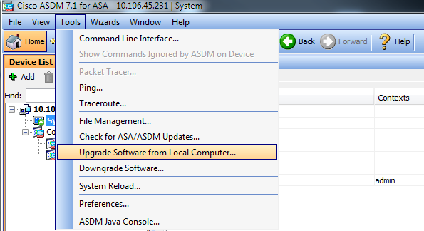 cisco asa 5505 latest supported firmware