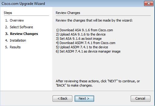 ASA 9 x : Upgrade a Software Image using ASDM or CLI Configuration