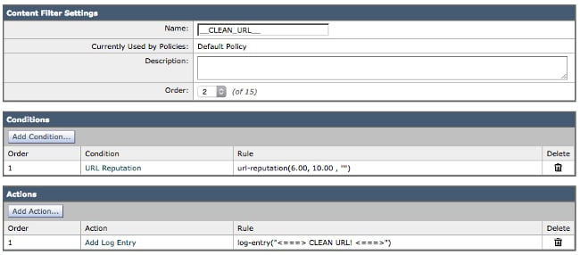URL Filtering Configuration and Best Practices for Cisco Email