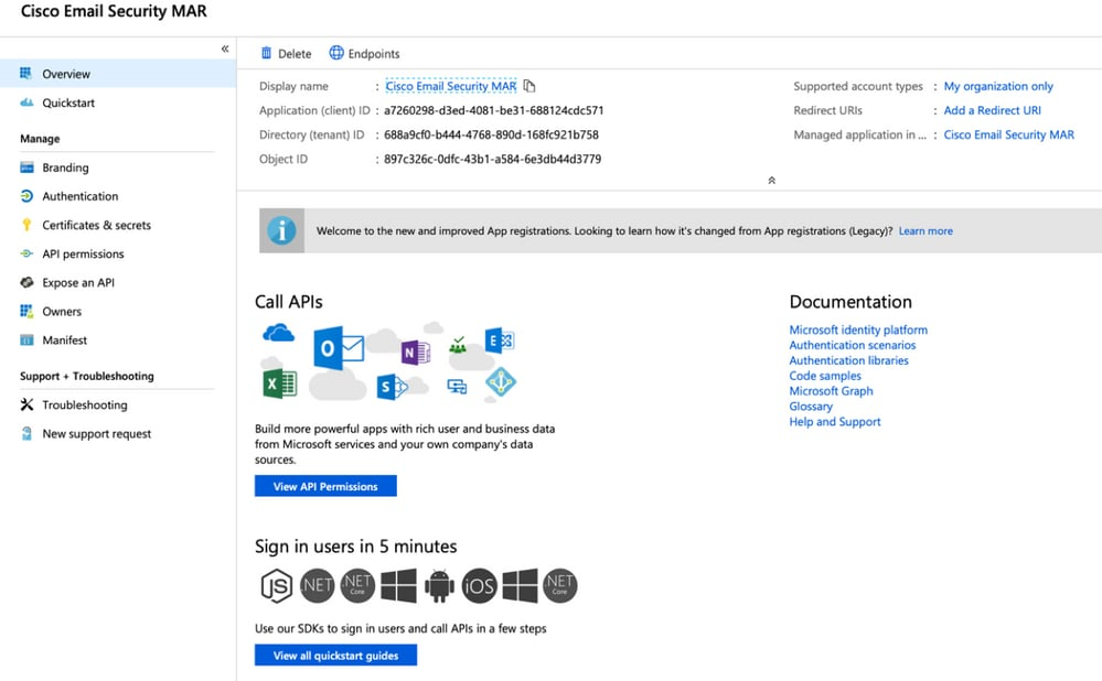 How-to configure Azure AD and Office 365 mailbox settings for ESA