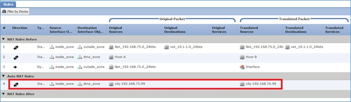 Configure and Verify NAT on FTD - Cisco