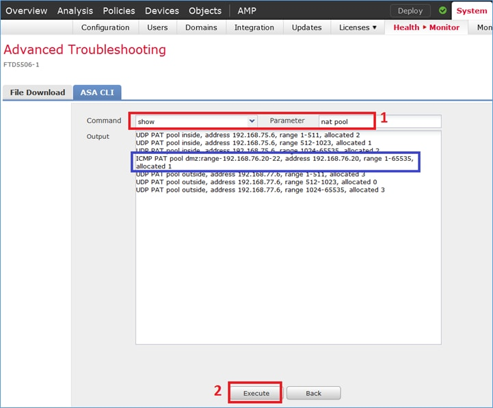 Configure and Verify NAT on FTD - Cisco