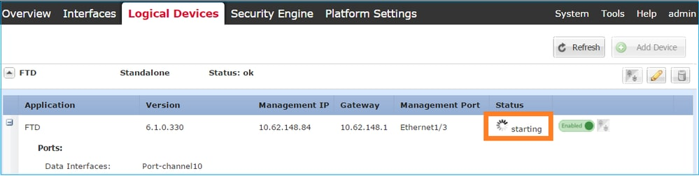 Install and Upgrade FTD on Firepower Appliances - Cisco