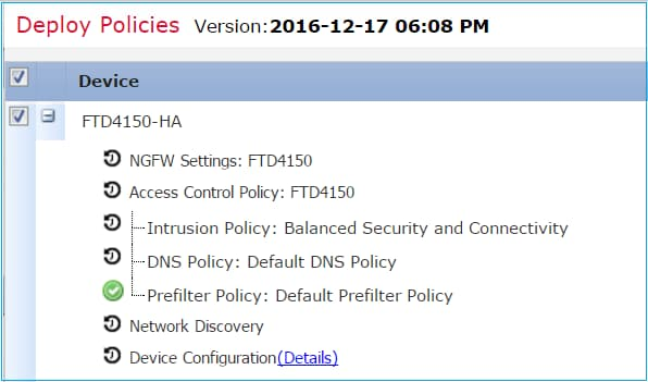 At The Background FMC Using Internal User Enable 1 Swaps FTD Failover States And Temporarily Removes Configuration From