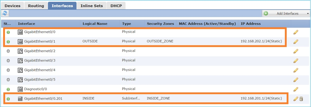 Configuring Firepower Threat Defense interfaces in Routed mode - Cisco