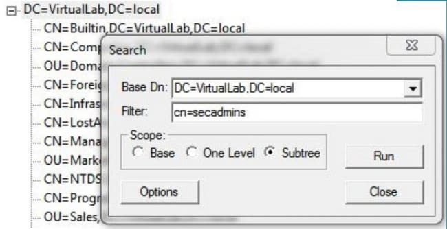 Identify Active Directory LDAP Object Attributes for Authentication