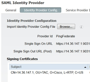 Configure ISE 2 1 Guest Portal with PingFederate SAML SSO