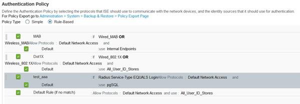 Configure ODBC on ISE 2 1 with PostgreSQL - Cisco
