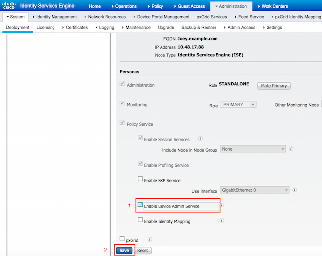 Configure ISE 2 0: IOS TACACS+ Authentication and Command