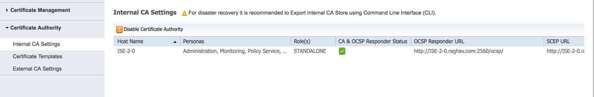 Ise 20 certificate provisioning portal cisco step 2 xflitez Gallery