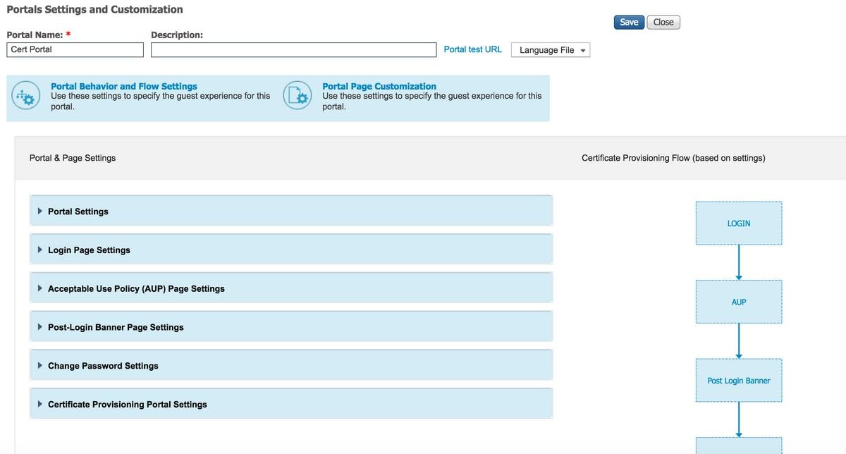Ise Guest Portal Certificate