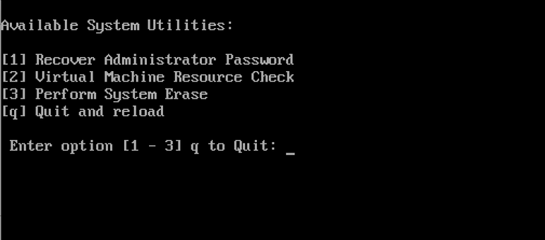 administrator password recovery iso