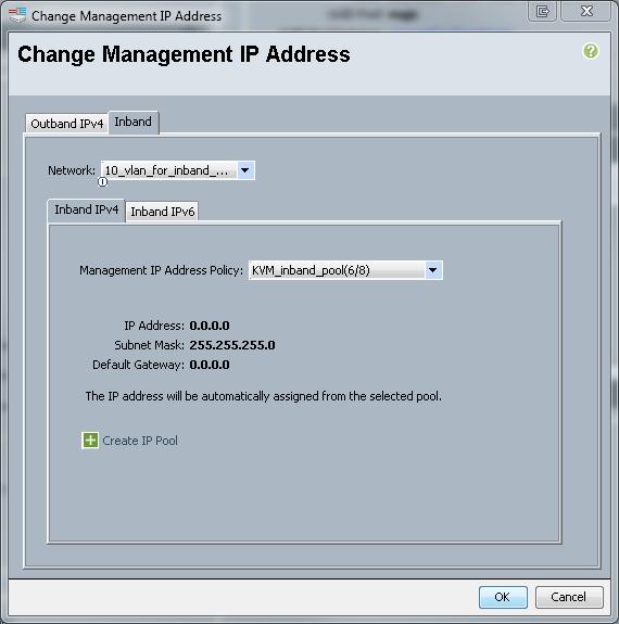 CIMC Inband Access on UCS-B Series Blades Configuration