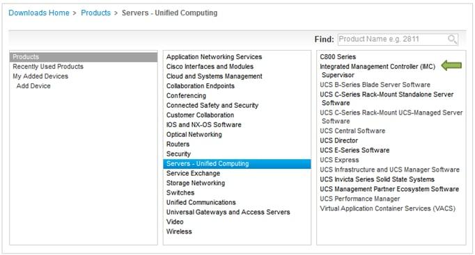 Configure Cisco IMC Supervisor for C-Series and E-Series Servers - Cisco