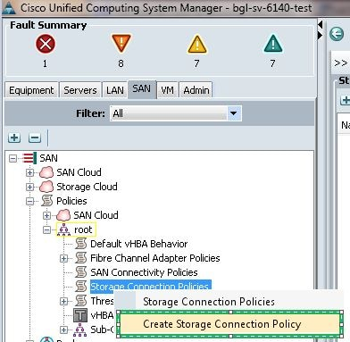 UCS Direct Attached Storage and FC Zoning Configuration Example - Cisco