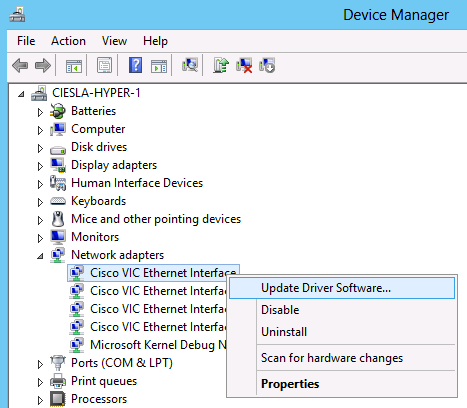 UCS Driver Installation for Common Operating Systems - Cisco